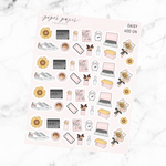 Daisy Deco Add On Sticker Sheet