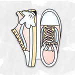 Magic Sneakers Deco Sticker Sheet