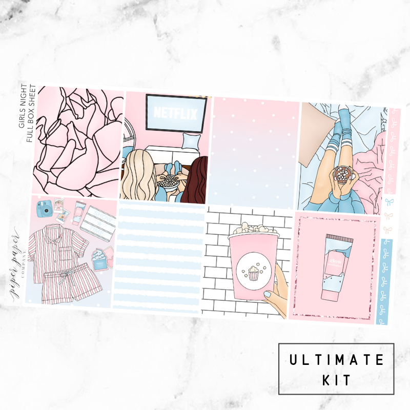 Girl's Night Ultimate Sticker Kit For the Vertical ECLP