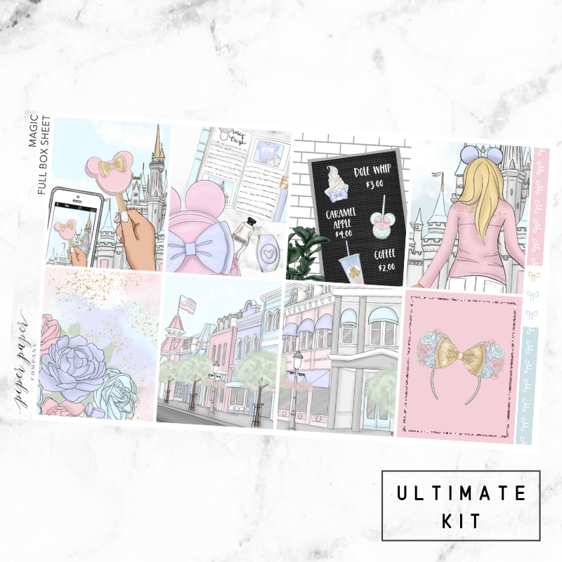 Magic Ultimate Sticker Kit For the Vertical ECLP