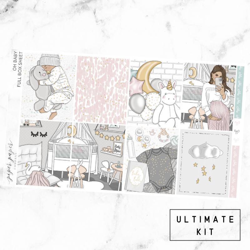 Oh Baby Ultimate Sticker Kit For the Vertical ECLP