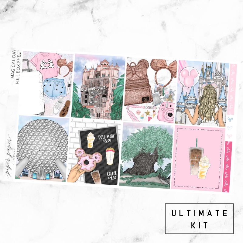 Magical Day Ultimate Sticker Kit For the Vertical ECLP
