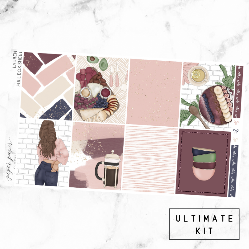 Lauren Ultimate Sticker Kit For the Vertical ECLP