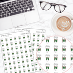 Starbucks Cup Mini Deco Sticker Sheet
