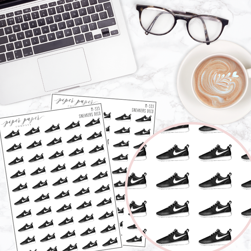Sneaker Mini Deco Sticker Sheet