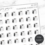 Cleaning Caddy 2.0 Mini Deco Sticker Sheet