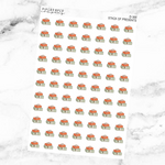 Stack of Presents Deco Sticker Sheet