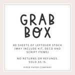 Sticker Grab Box (60 sheets)