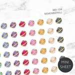 Rememberall Sticker Sheet