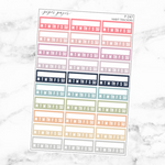 Pastel Habit Tracker Sticker Set