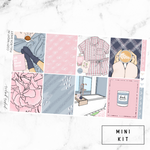 Cozy Night In Mini Sticker Kit For the Vertical ECLP