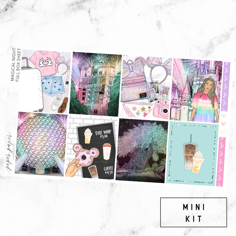 Magical Night Mini Sticker Kit For the Vertical ECLP
