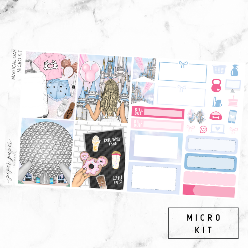 Magical Day Micro Sticker Kit For the Vertical ECLP