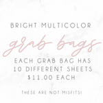 Bright Multicolor Functional Grab Bag
