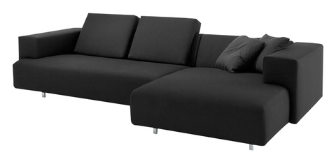 Black Block Sectional
