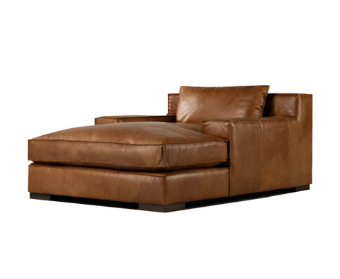 Capi Leather Chaise