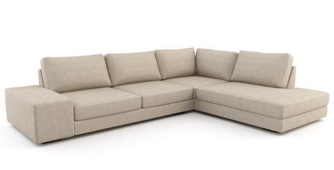 Wedge Open Sectional