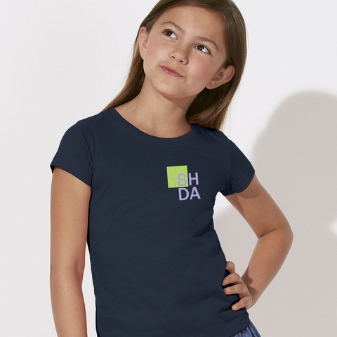 BHDA - BG Draws - Children's round neck fitted T-shirt