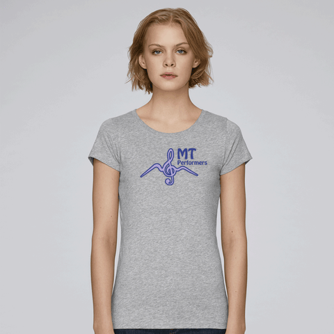 MT Performers - BG Wants - Organic Cotton Round Neck T-shirt