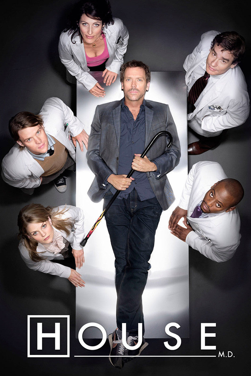 House md complete cast poster in india by sillypunter - House of tv show ...