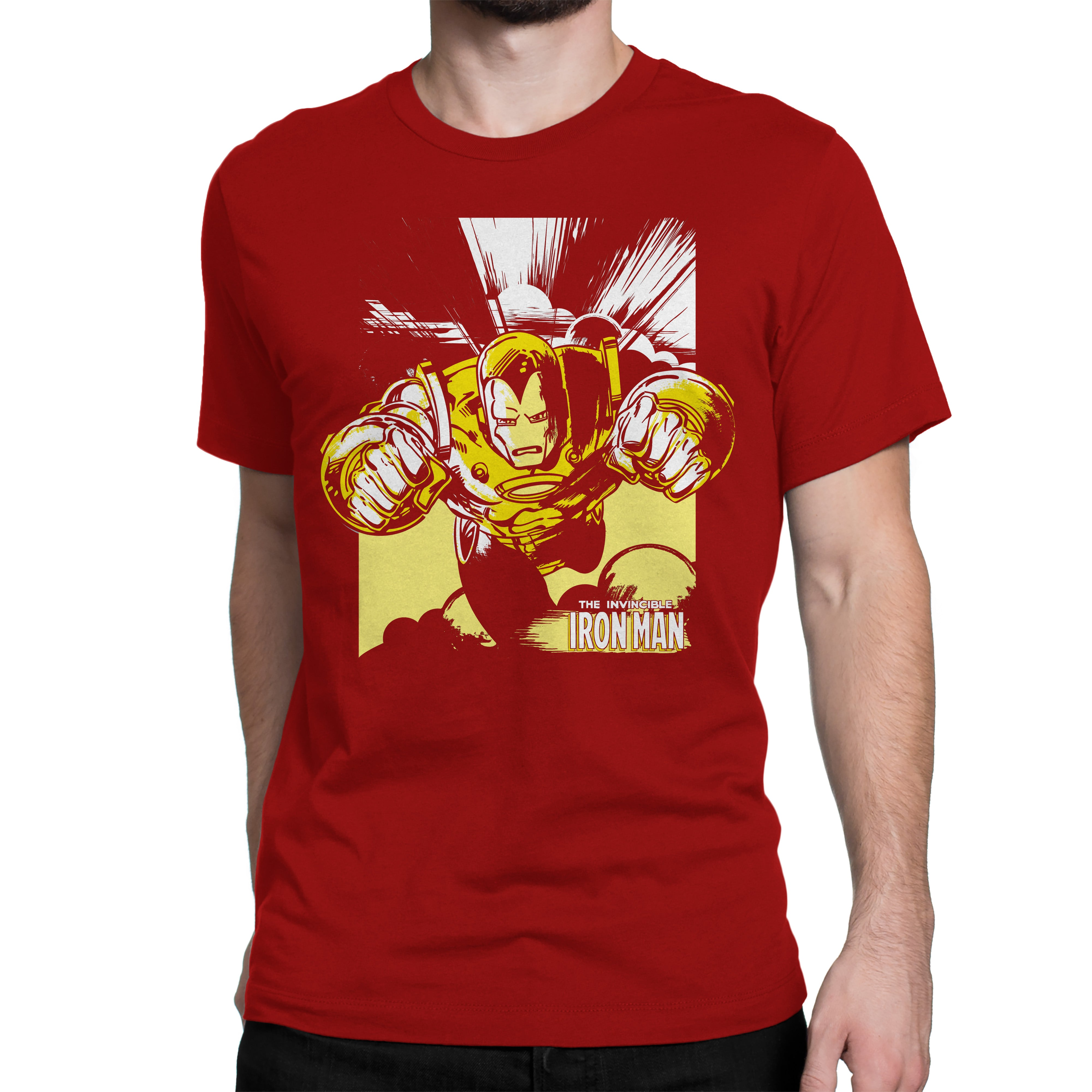 bc264083fadfae ... marvel infinity war Iron Man Retro tshirt in India by silly punter ...