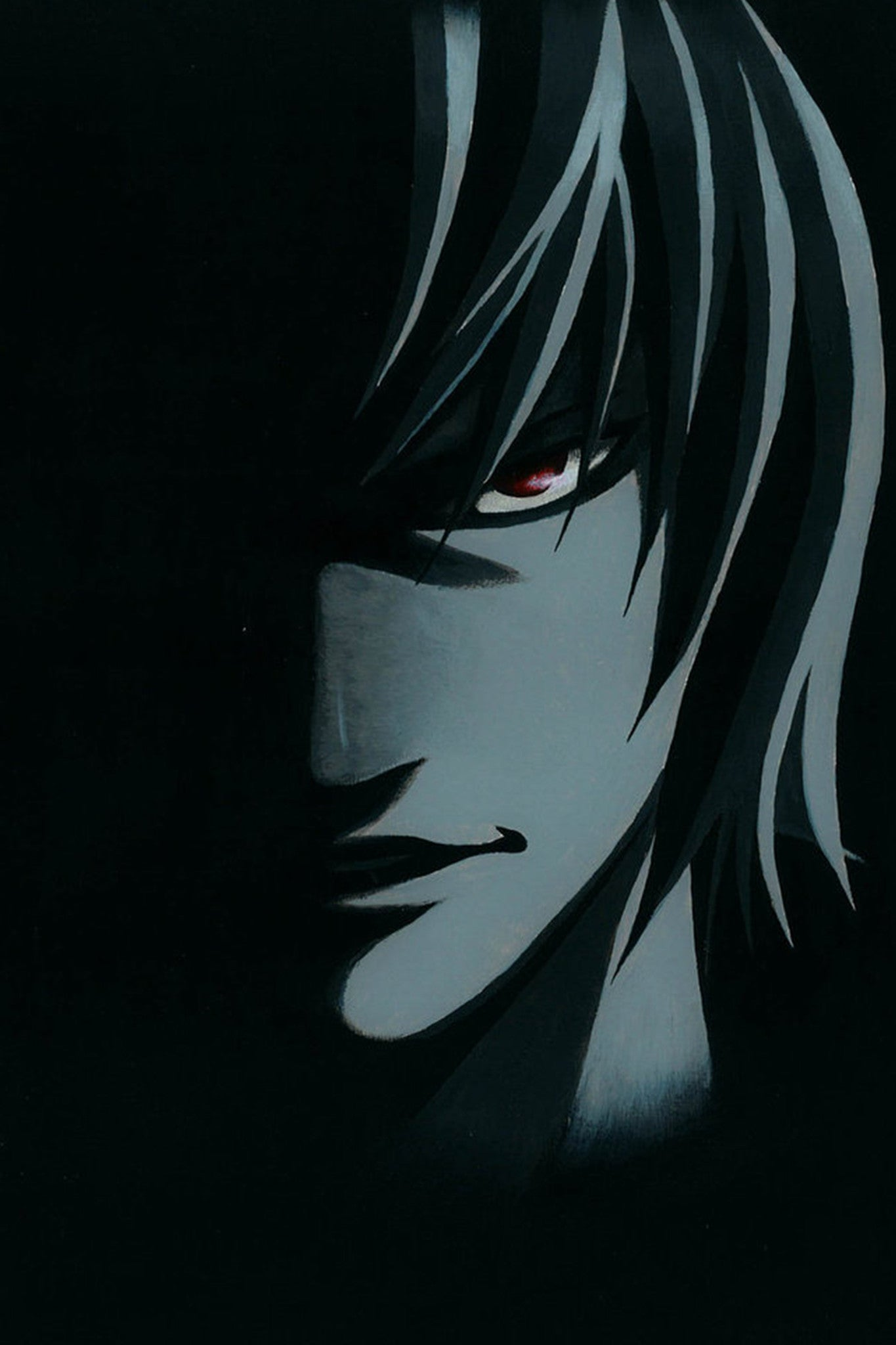 Anime light yagami from death note poster in india by sillypunter