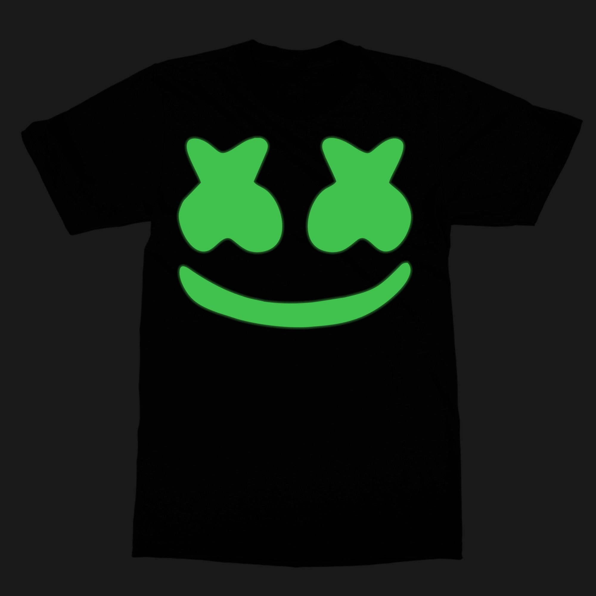 Marshmello Glow In The Dark Tshirt In India By Sillypunter Silly
