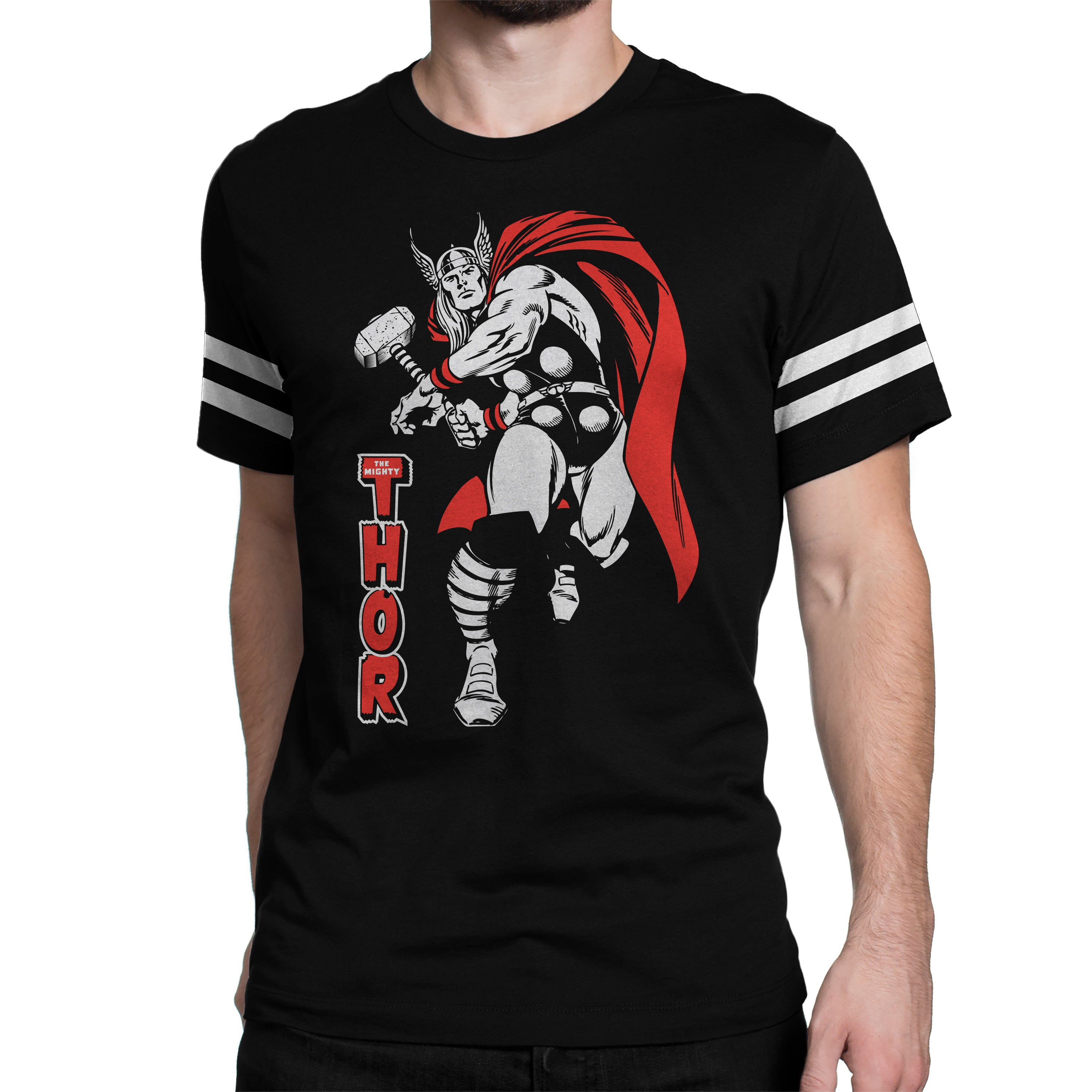 5655e35b48e224 Official Marvel The Mighty Thor by Marvel™ T-shirt - Silly Punter