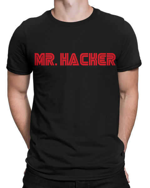 877aa183b68 Mr. Hacker T-shirt In India by Silly Punter