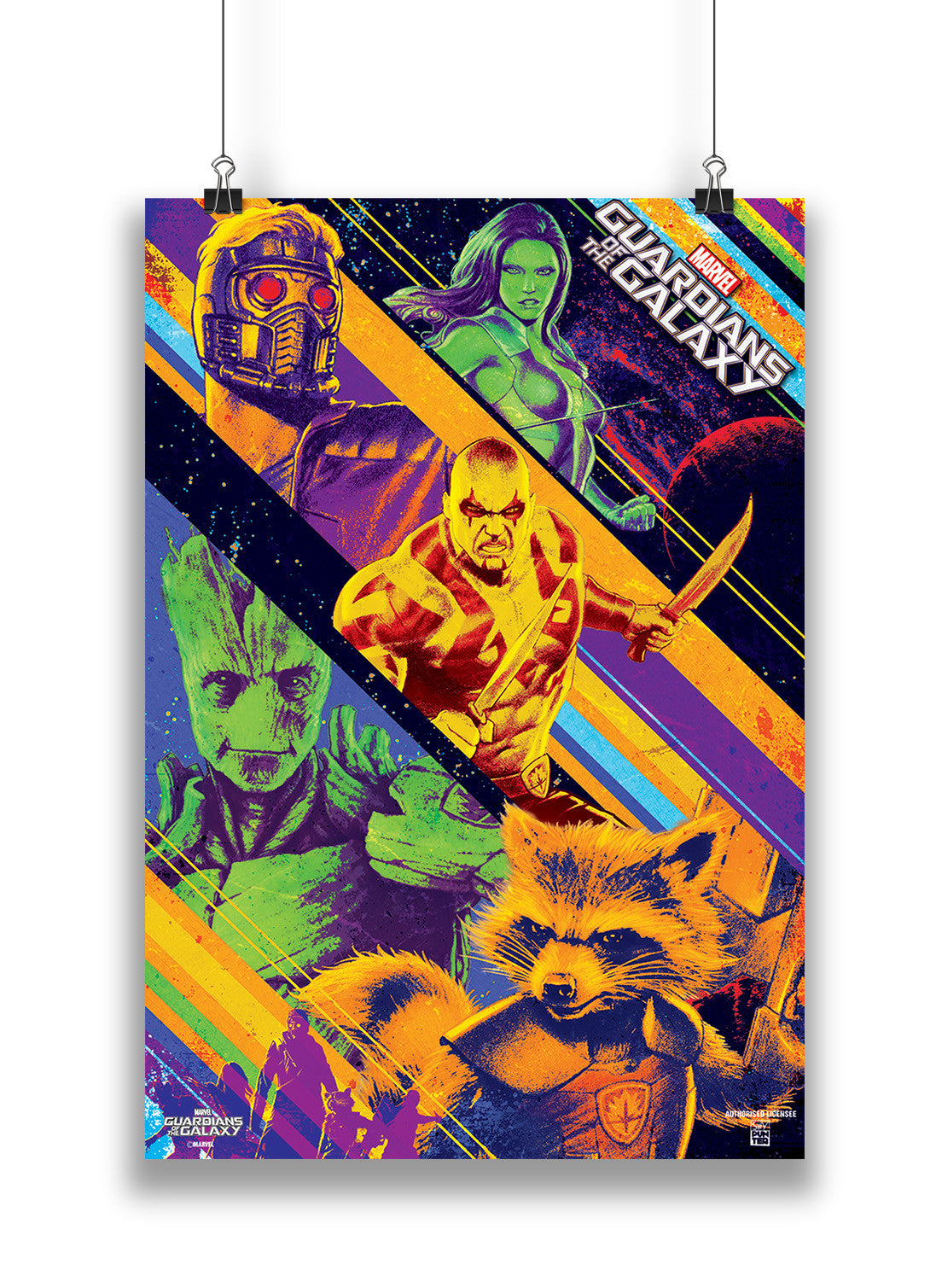 official guardians of the galaxy classic comic pop art by marvel