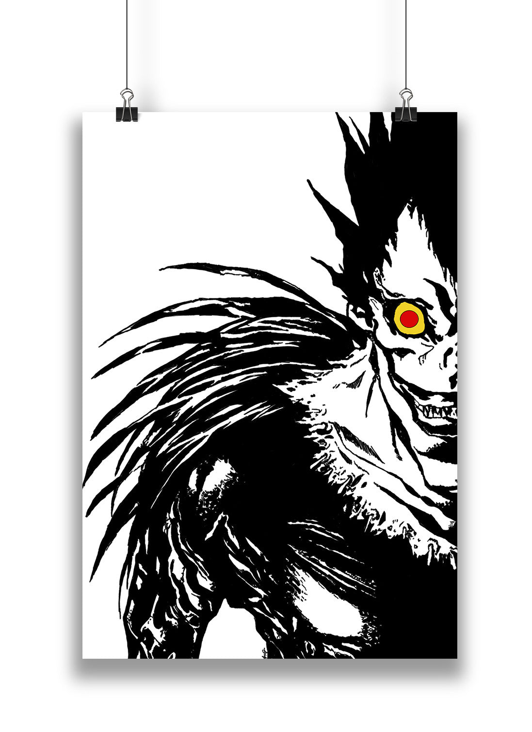 Anime Ryuk From Death Note Poaster In India By Sillypunter