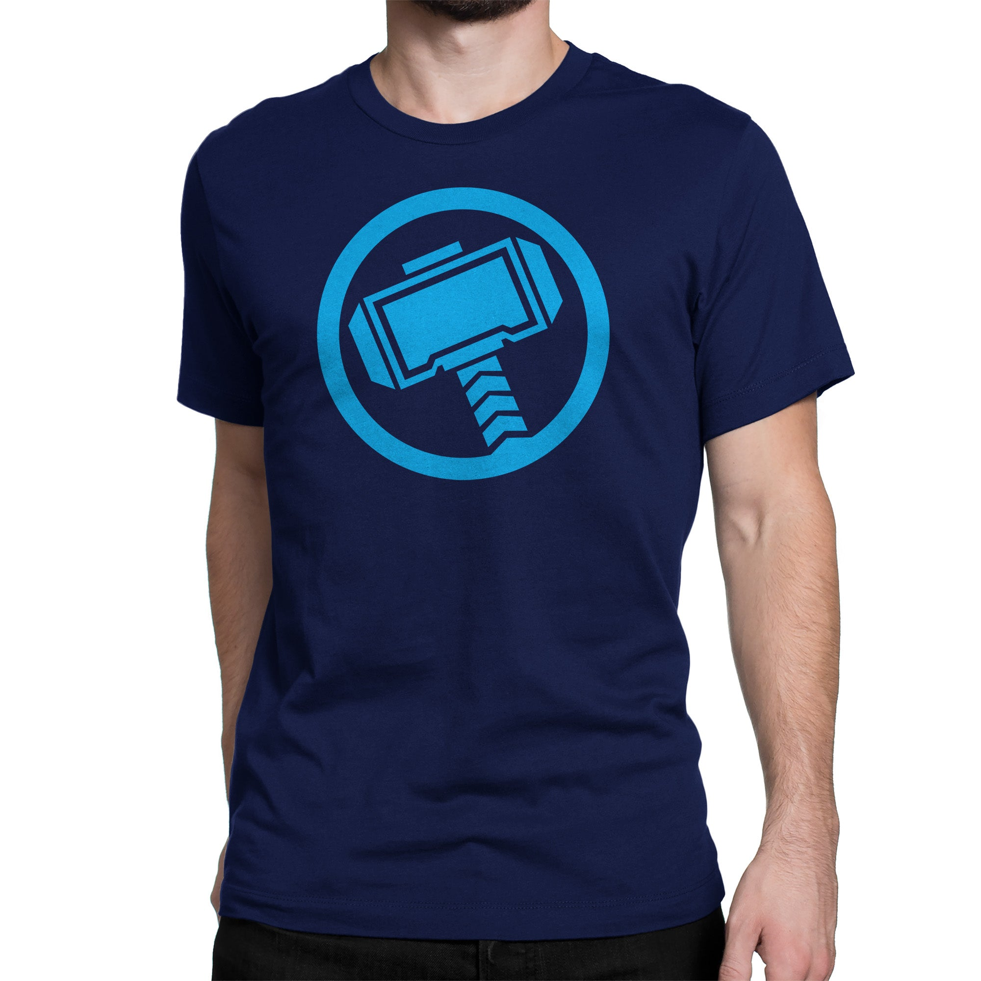 Official Marvel Avengers Thor Logo By Marvel T Shirt Silly Punter