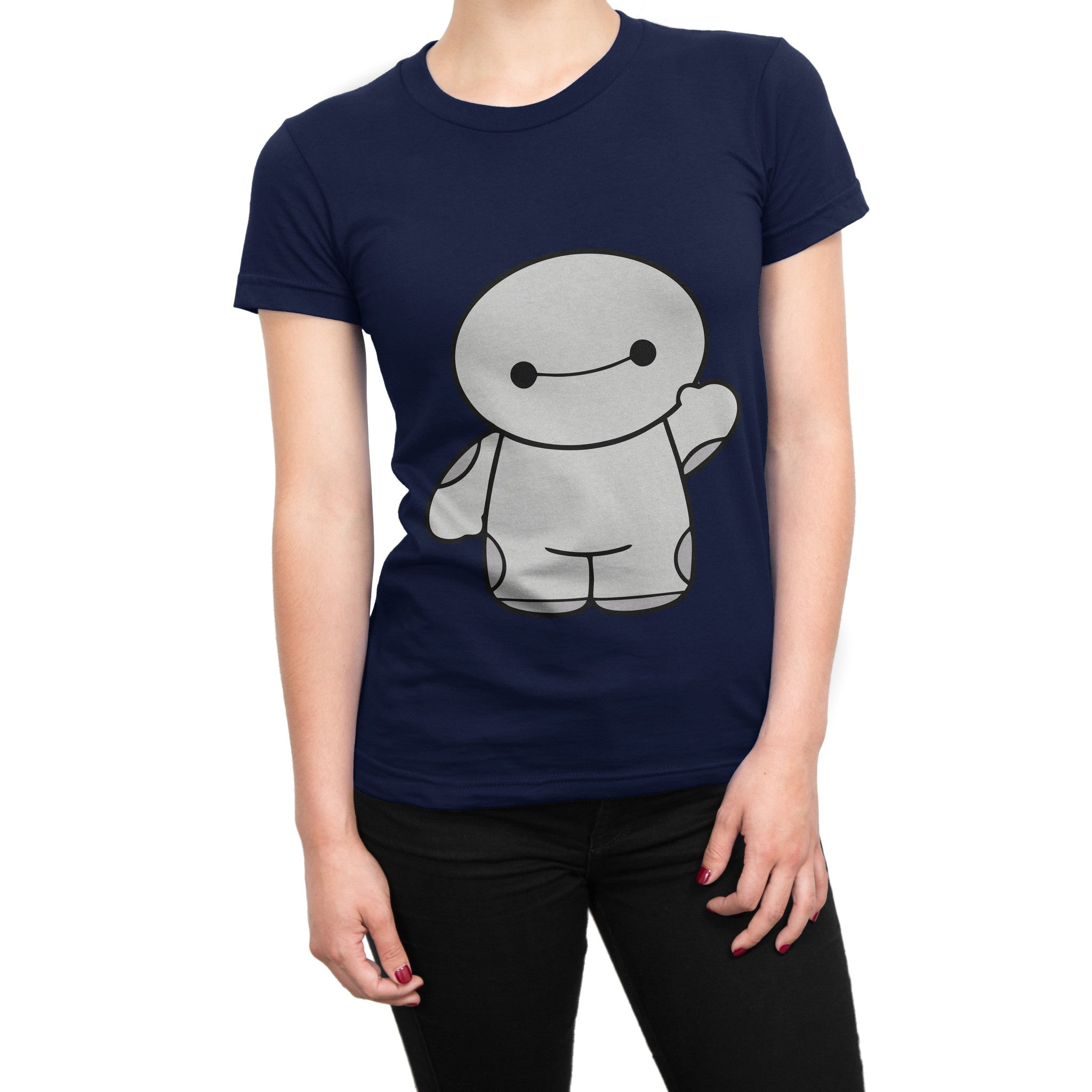 Big hero 6 hello baymax girls t shirt in india silly for Superhero t shirts india