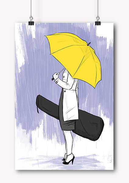 Yellow Umbrella How I Met Your Mother Poster Tv-Show How I M...