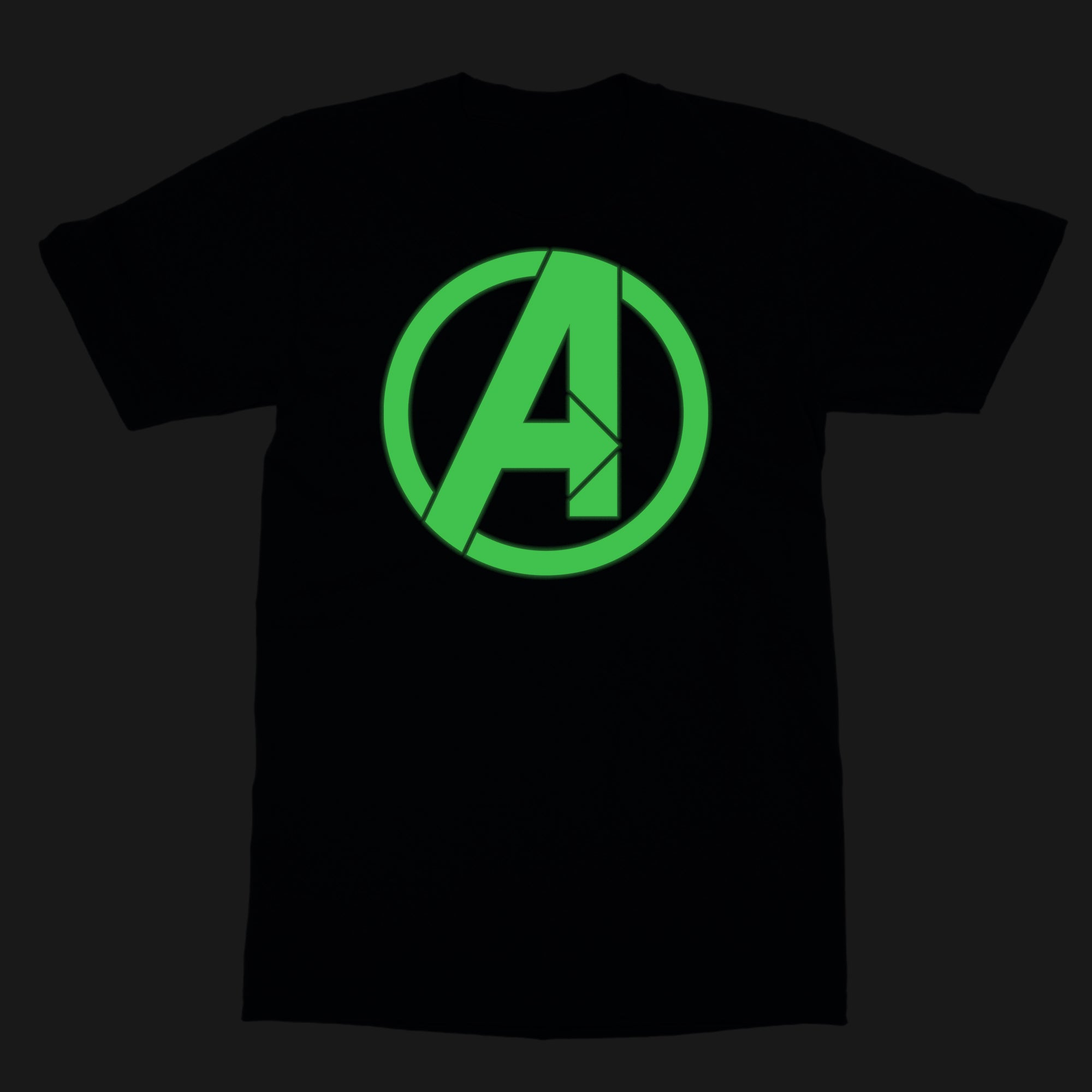 Marvel Thanos Glow In The Dark Logo Logo By Marvel T Shirt Silly