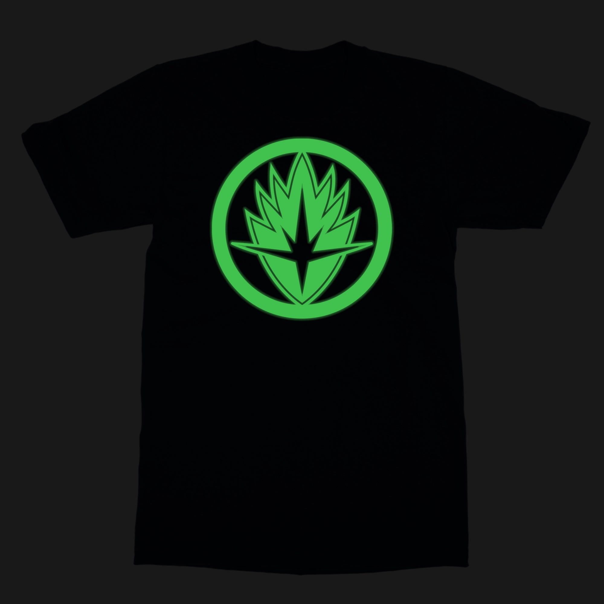 Marvel Gotg Glow In The Dark Logo By Marvel T Shirt Silly Punter