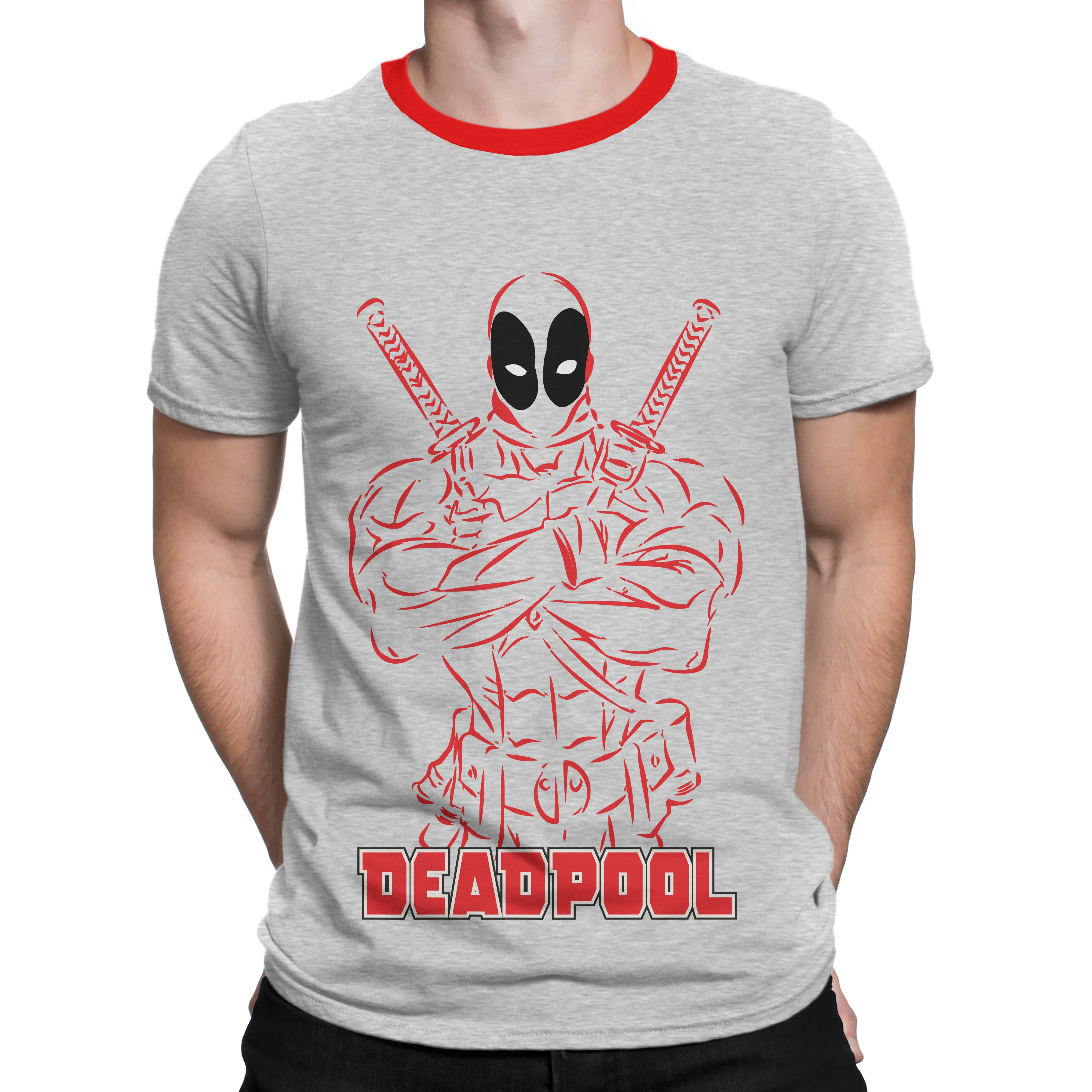 Deadpool silly punter for Superhero t shirts india