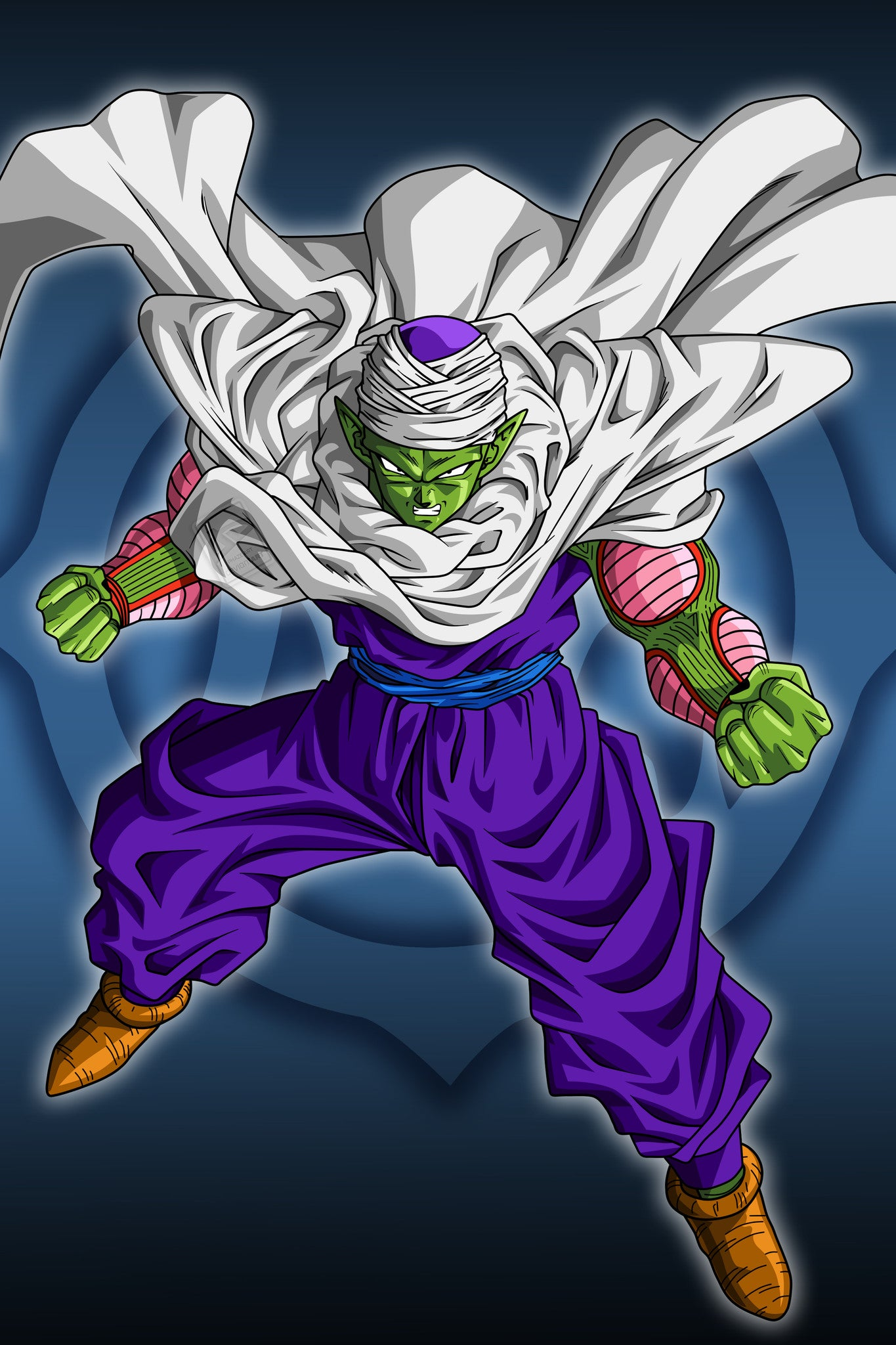 Anime dragon ball z piccolo poster in india silly punter - Dragon ball z image ...