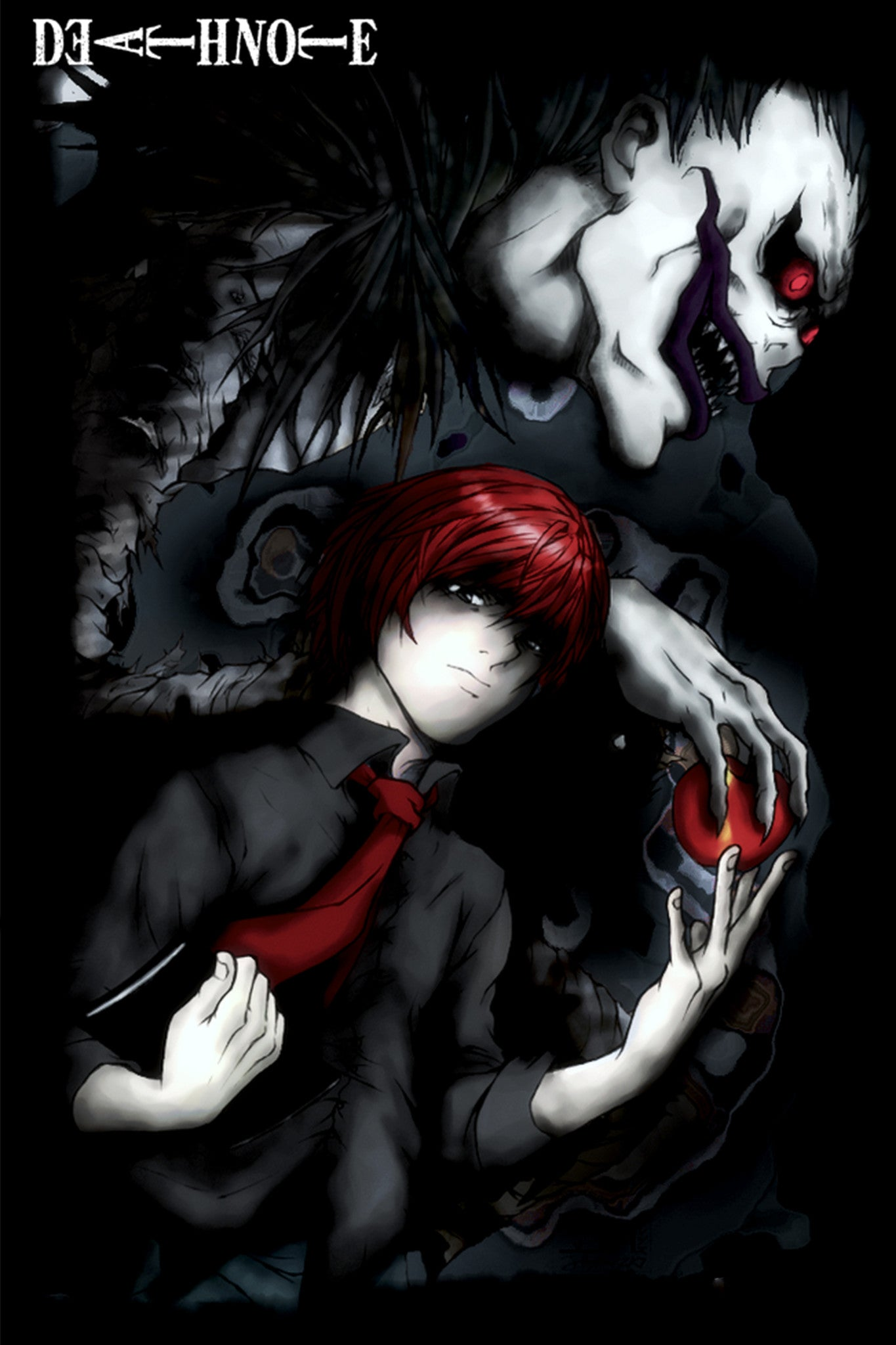 Captivating ... Anime Ratio And Ryuk From Death Note Poster In India By Sillypunter ...