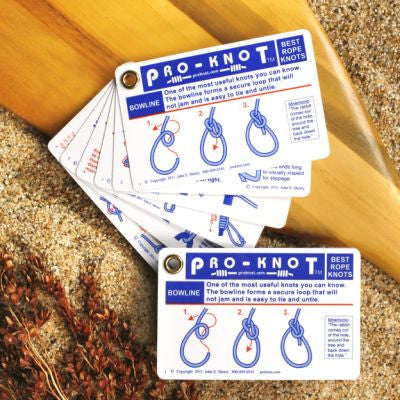 ROPE Knots - Pro-Knot Paddling Knot Cards