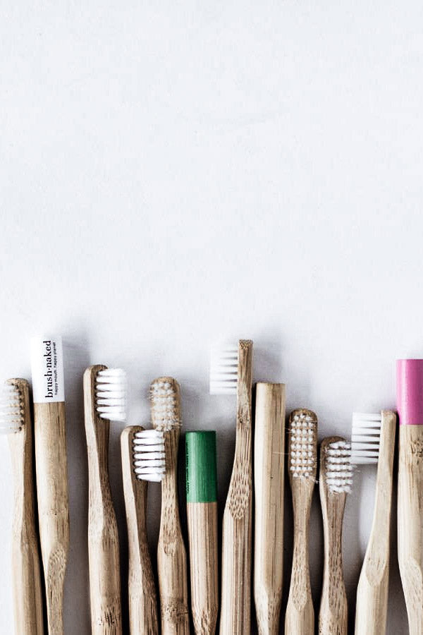 Biodegradable Plant-Based Bristle Toothbrush, Adult