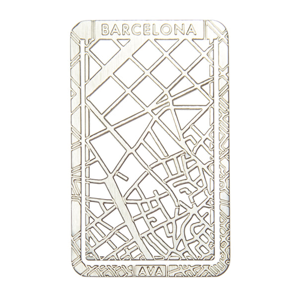 Bookmarker Street Map - BARCELONA