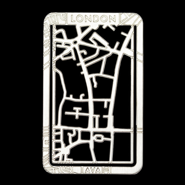 Bookmarker Street Map - LONDON / Big Ben & Westminster