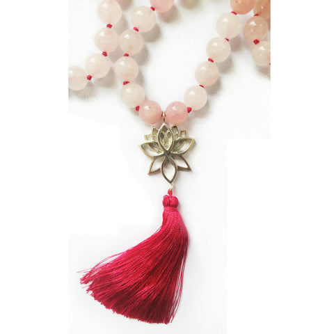 Mala 4th Chakra - Rose Quartz