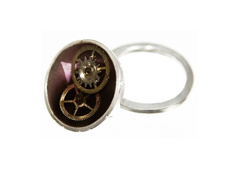 Time Stopper Rings - Purple