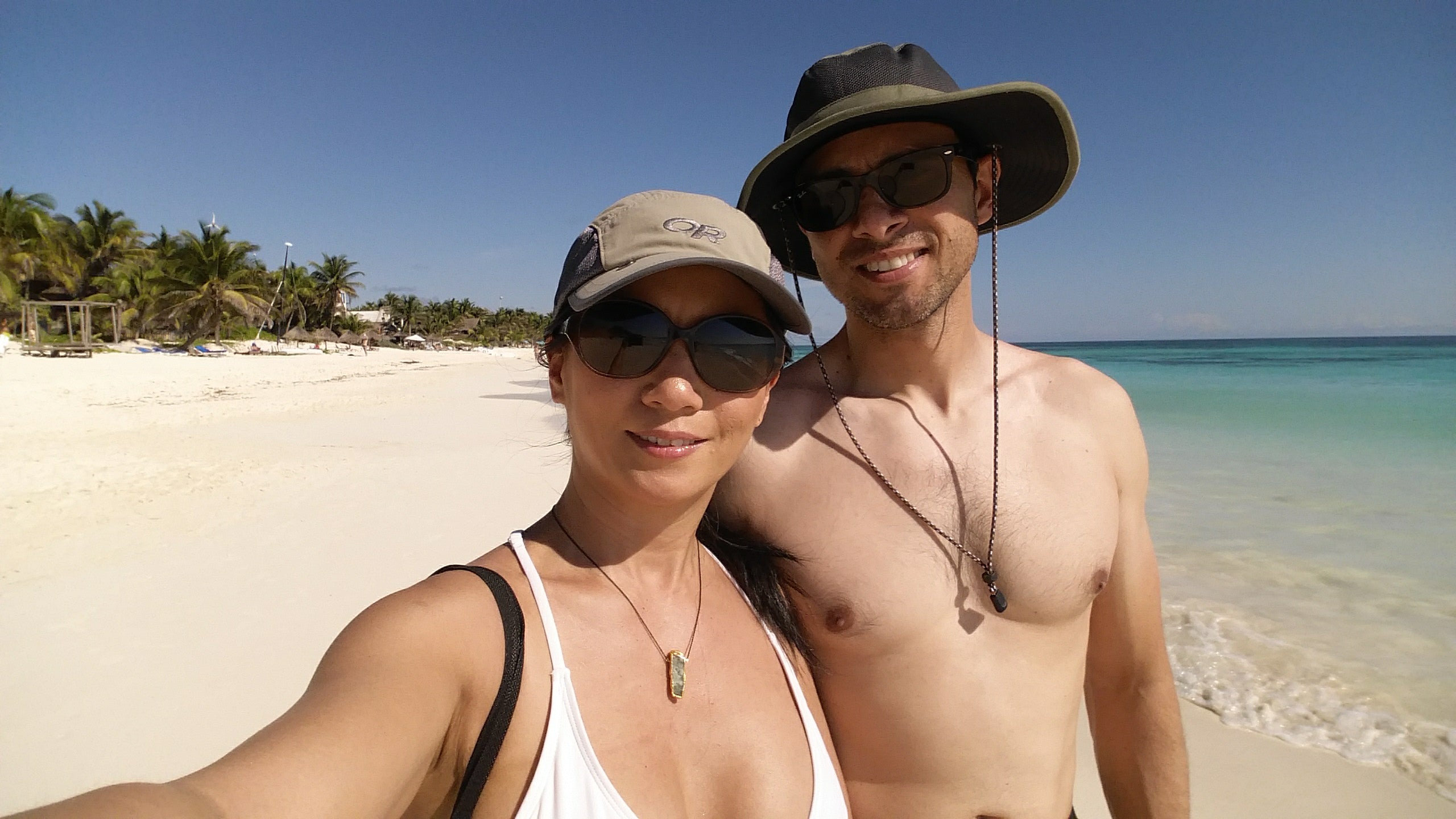 tulum with husband