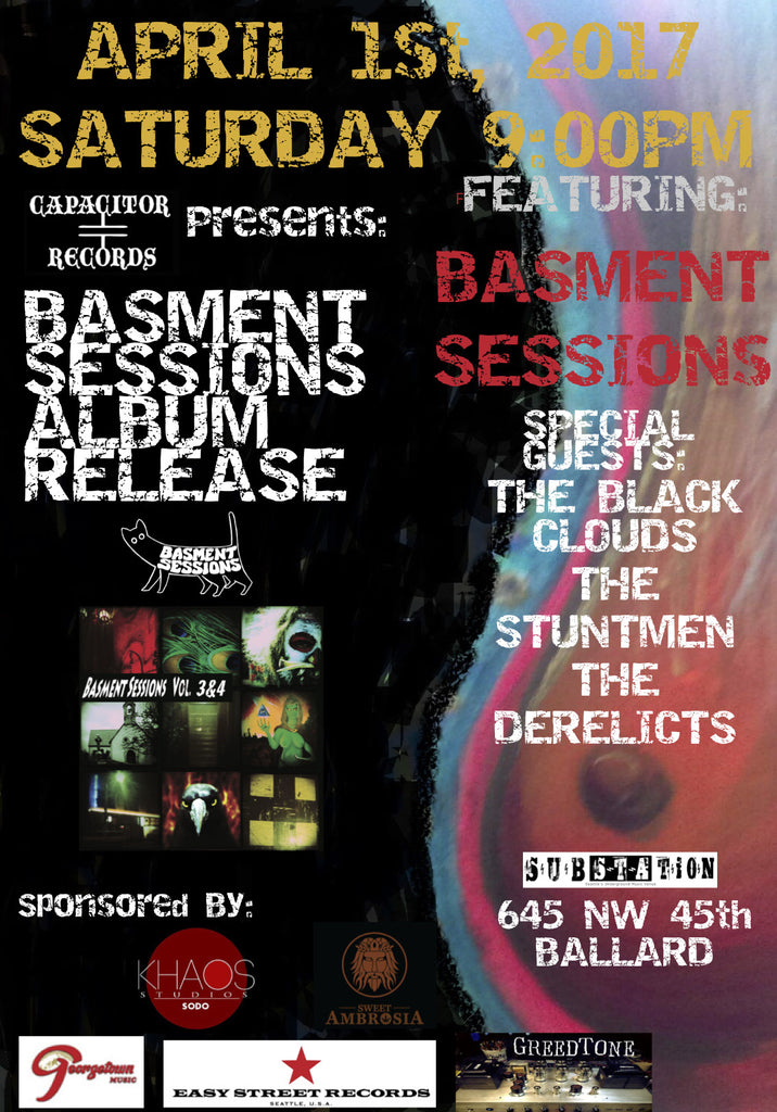 Basment Sessions Vol3 & 4 Release Show
