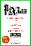 Shut Up, Yorkshire Tenth, The Pixies at The Stone Pony