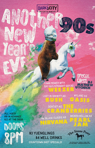 Tickets ~ The Black Clouds & Dark City Entertainment present: Another 90's New Year