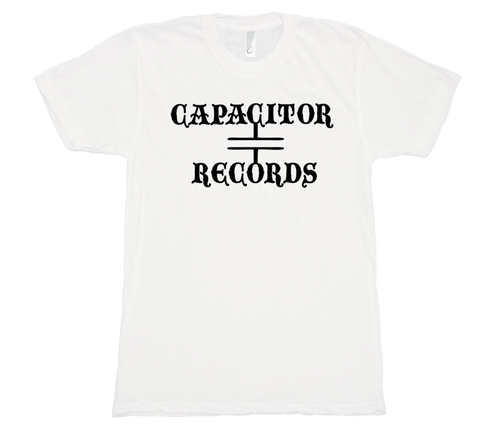 Capacitor Records 50/50 Mens White